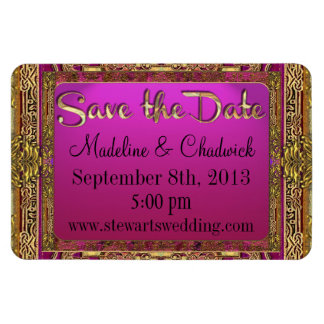 "Salsbury Royale Save the Date 4""x6"" Magnet"