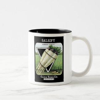 Salsify Card Seed Co Two-Tone Coffee Mug