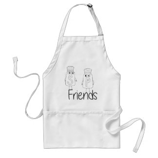 Salt and Pepper - Friends Standard Apron