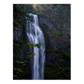 Salt Creek Waterfall, Oregon Postcard