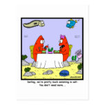 Salt: Fish Cartoon Postcard