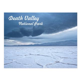 Salt Flats in Death Valley Postcard