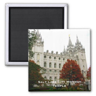 Salt Lake City Mormon Temple Square Magnet