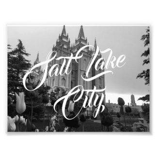 Salt Lake City Photo Print