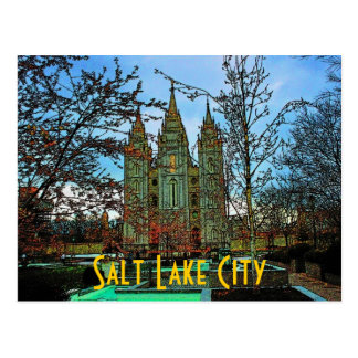 Salt Lake City Postcard
