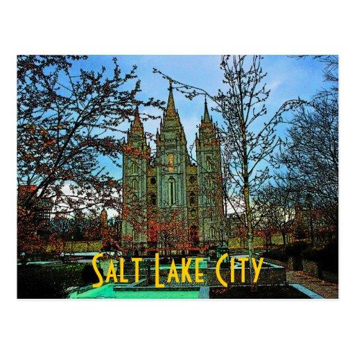 Salt Lake City Postcard Zazzle