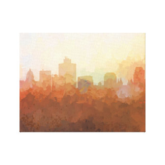 SALT LAKE CITY SKYLINE-In the Clouds Canvas