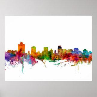 Salt Lake City Skyline Posters