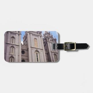 Salt Lake City Temple Luggage Tag