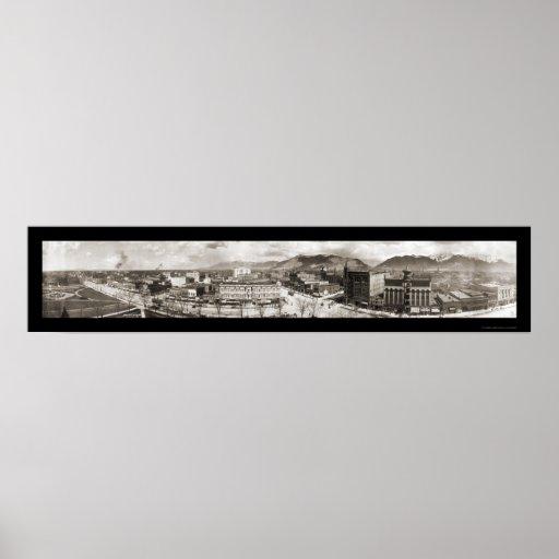 Salt Lake City UT Photo 1909 Print