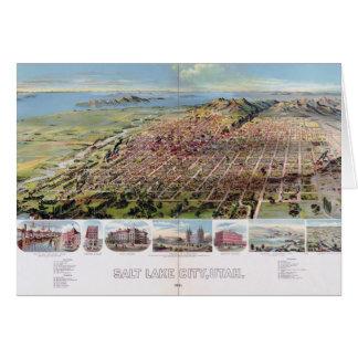 Salt Lake City, Utah (1891) Card
