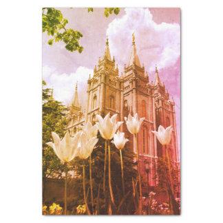 Salt Lake City, Utah Mormon Temple Tissue Paper