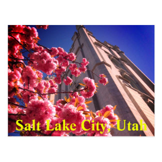Salt Lake City, Utah Postcard