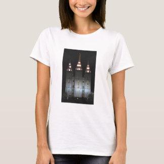 Salt Lake Temple At Night T-Shirt