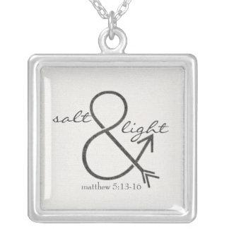 Salt & Light Silver Plated Necklace