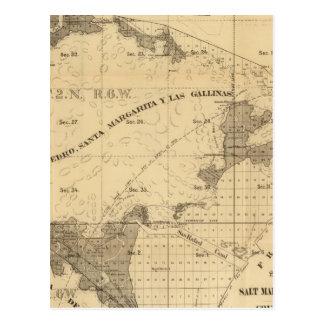 Salt marsh and tide lands postcard