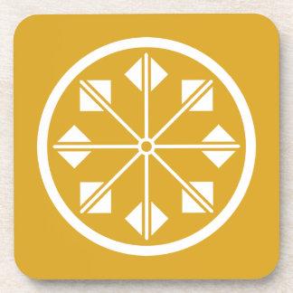 Salt name rice field pinwheel coaster