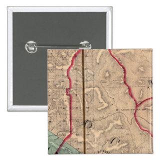 Salt Point, Ocean, Mendocino, Redwood, Bodega 15 Cm Square Badge