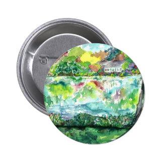 Salt Pond - Falmouth, MA. enhanced 6 Cm Round Badge