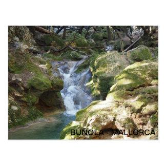 Salt postcard d'es Freu, in Buñola, Majorca