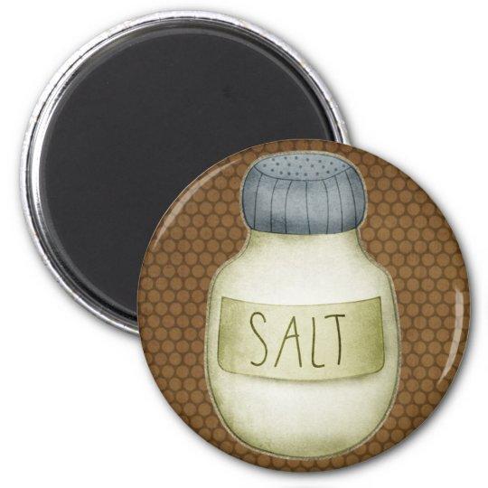 Salt Shaker Refrigerator Magnet