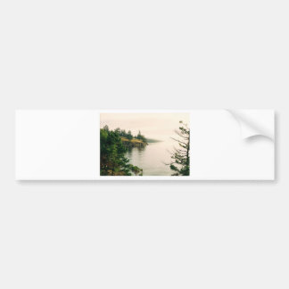 Salt Spring Island Oceanfront View Bumper Sticker