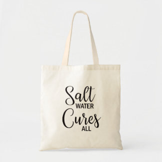 Salt Water Cures All Summer Beach Tote