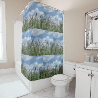 Salt Water Marsh Shower Curtain