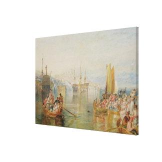 Saltash, Cornwall Canvas Print
