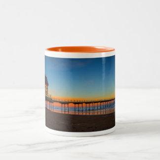 Saltburn Pier England Mug