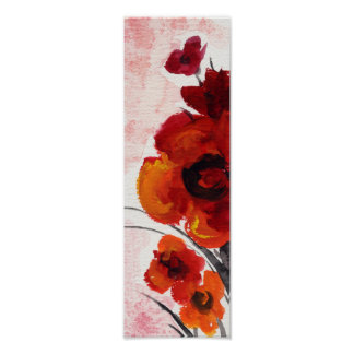 Salted Poppies Poster