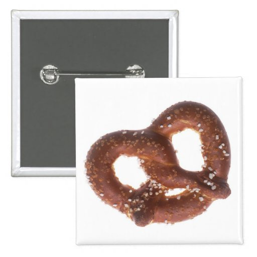 Salted Pretzel Pinback Buttons
