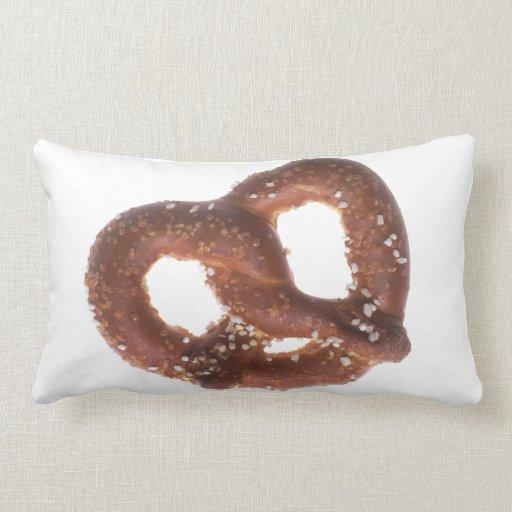 Salted Pretzel Throw Pillows