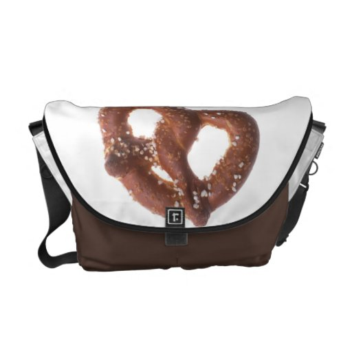 Salted Pretzel Courier Bags