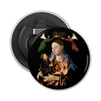 Salting Madonna and Christ Child Bottle Opener