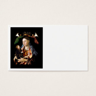 Salting Madonna and Christ Child Business Card