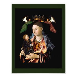 Salting Madonna and Christ Child Card