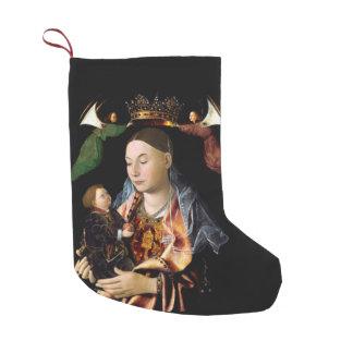 Salting Madonna and Christ Child Small Christmas Stocking