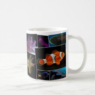 Saltwater Aquarium Fish Mug - 11oz