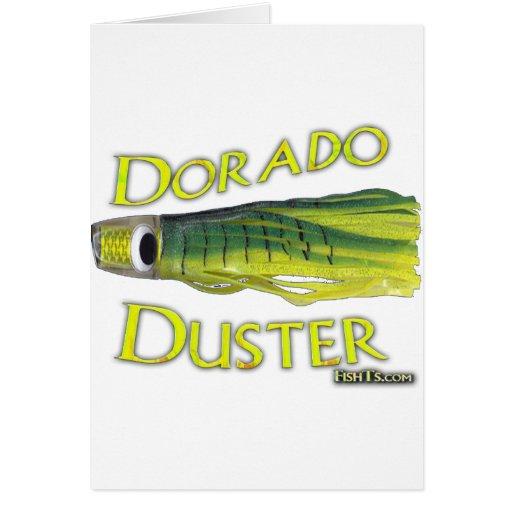 saltwater big gamefish bait for dorado and marlin greeting cards