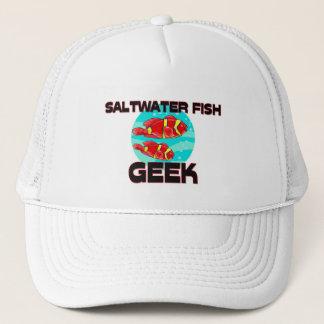 Saltwater Fish Geek Trucker Hat