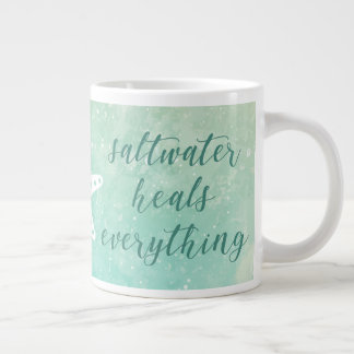 Saltwater Heals Everything | Mug