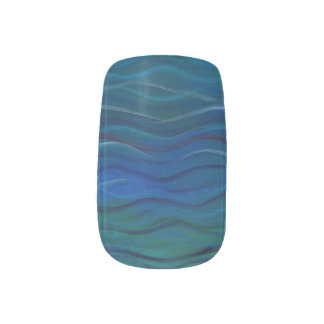 Saltwater & Oceanic Acrylic Painted Nail Stickers