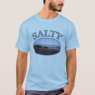Salty Beach Bum Mens T-shirt