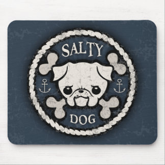 Salty Dog -bd Mouse Pad