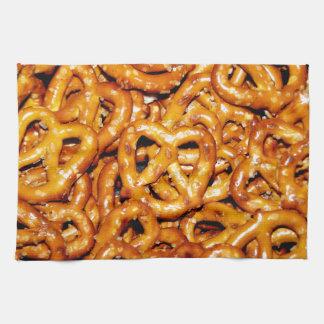 Salty Pretzels Kitchen Towel