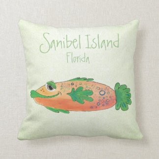 Salty Sam Adorable Fish Art Cushion