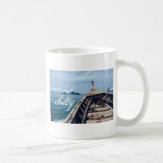 salty seas coffee mug
