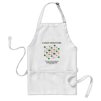 Salty Structure Crystal Structure Sodium Chloride Standard Apron