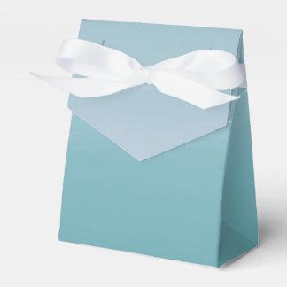 Salty Watercolor Sea Foam Blue Green Custom Favor Party Favour Box